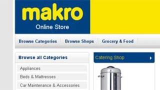 Makro's website