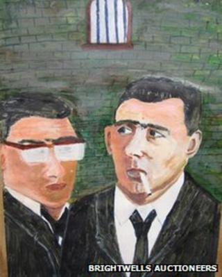 Painting by one of the Kray twins