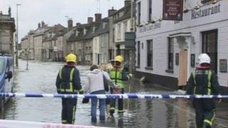 Flooding in Witney in 2007