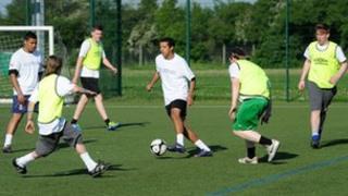 Twilight Football, Whitton Sports Centre, Ipswich