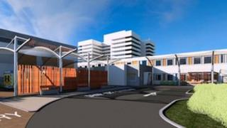 Architect's impression of the new emergency department at the Lister hospital