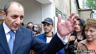 Nagorno-Karabakh leader Bako Sahakyan