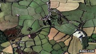 Aerial view of Minorca Lane, Bugle