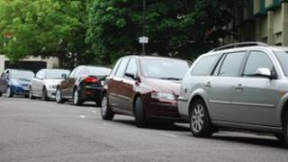 On-street parking in Coventry's city centre