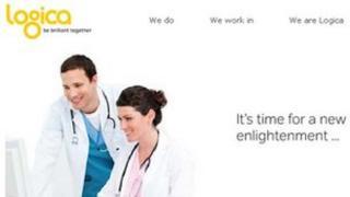 Logica's website