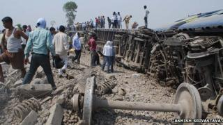 Doon Express accident on 31 May 2012
