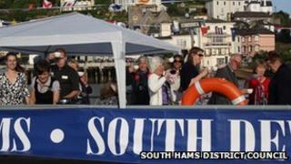 Jubilee party ferry