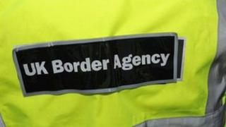 UK Border Agency jacket