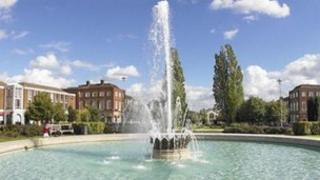 Coronation Fountain, Welwyn Garden City