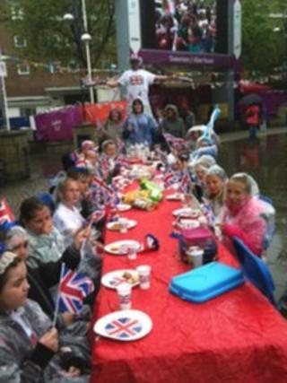 Diamond Jubilee celebrations in Swansea