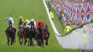 The Diamond Jubilee Stakes at Epsom Racecourse