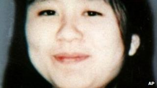 Undated photo of, Naoko Kikuchi, a former senior member of Aum Shinrikyo doomsday cult wanted in the 1995 Tokyo subway sarin attack.