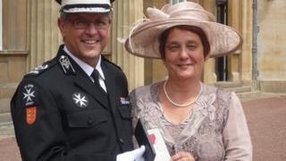 Nigel and Sharon Truscott