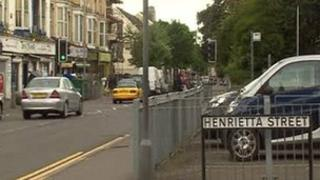 St Helen's Road and Henriette St junction in Swansea