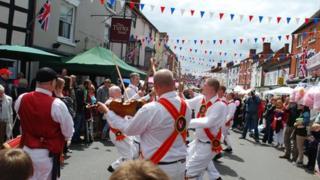 Alcester Diamond Jubilee celebrations