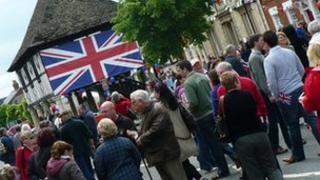 Jubilee festival in Royal Wootton Bassett.