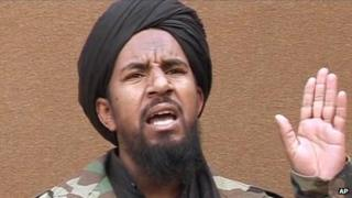 Screengrab of Abu Yahya al-Libi, file image 25 March 2007