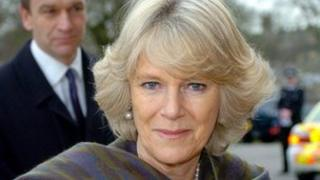 The Duchess of Cornwall. Pic: PA