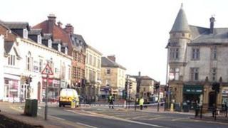 Lowther street in Carlisle