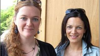 Manon Steffan Ros a Rhiannon Wyn