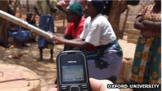 Kenya pump texting mobile