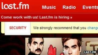 Last.fm screenshot