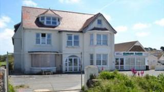 Former Les Carterets Hotel site in Guernsey