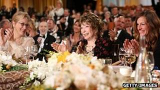 Meryl Streep, Shirley MacLaine and Julia Roberts