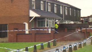 Scene of Laneside Gardens shooting