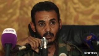 Head of Zintan brigade Ajami Al-Ateri