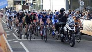 Tour Series in Woking in 2011