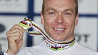 British cyclist Sir Chris Hoy