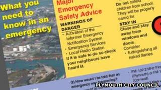 Plymouth emergency leaflet