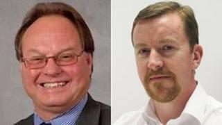 Allan Pennington (ch) a Paul Penlington (dde)