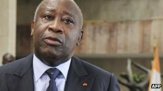 Laurent Gbagbo in January 2011