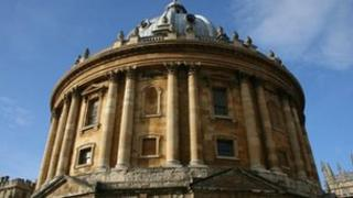 Bodleian Library in Oxford