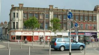 Former Tuttles department store, Lowestoft