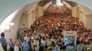 Moscow underground, 2005