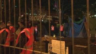 Bailiffs at Finsbury Square