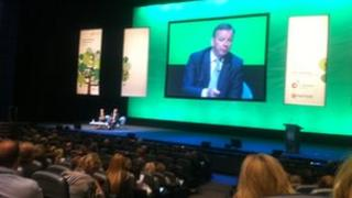 Michael Gove addresses National College for School Leadership conference in Birmingham