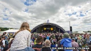 Wychwood Music Festival 2012