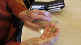 A pensioner's wallet