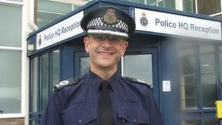 Dorset Police's Assistant Chief Constable Adrian Whiting