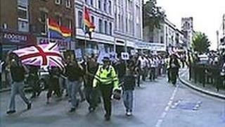 The first gay pride march took place in August 2006