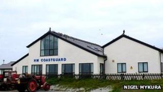 Crosby coastguard station