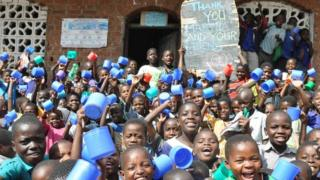 Children at Lirangwe Primary in Blantyre, Malawi