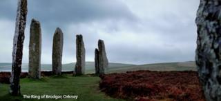 Orkney scene, from marketing advert
