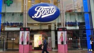 Boots Oxford street store