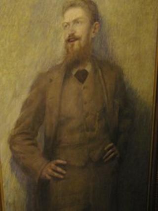 George Bernard Shaw portrait