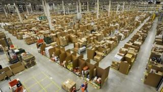 behind the scenes at Amazon